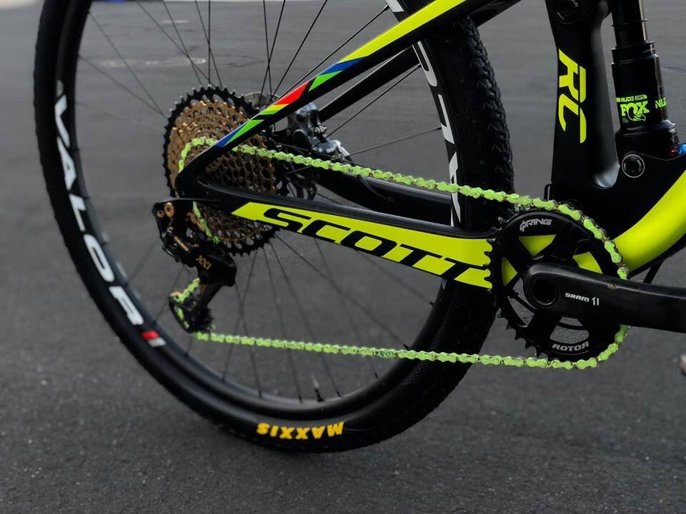 Wend Wax, un lubricante de calidad que colorea la cadena de tu bici